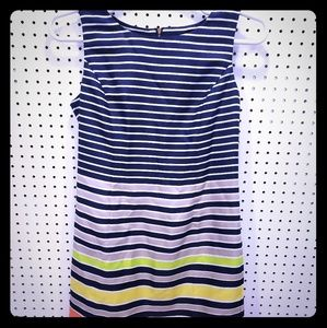 NWT Ellen Tracy Striped Dress